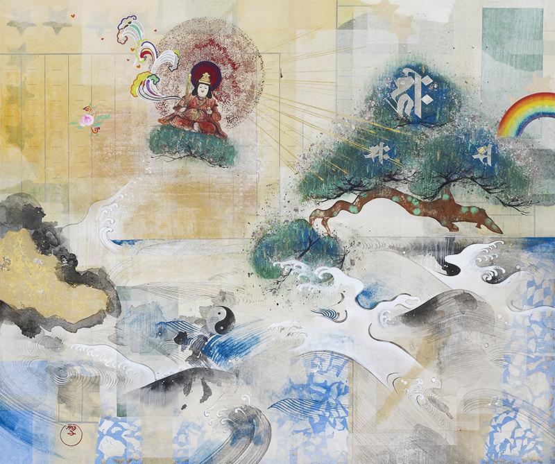 〜観自在絵図〜 高橋 朋子展 (アートフェア東京2016・画廊大千)